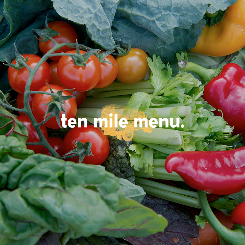 Ten Mile Menu